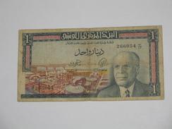 1 Un Dinar 1965 - Banque Centrale De Tunisie **** EN ACHAT IMMEDIAT **** - Tunisia