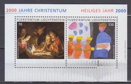 LIECHTENSTEIN           2000       BF   N .   19        COTE   5 . 00  Euros - Blocs & Feuillets