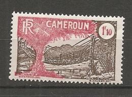 CAMEROUN - Yv. N° 144  *  1f10  Pont  Cote 5,8 Euro  BE  2 Scans - Cameroun (1915-1959)