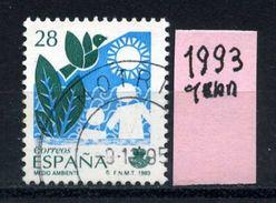 SPAGNA - Year 1993 - Usato -used - Utilisè - Gebraucht. - 1931-Oggi: 2. Rep. - ... Juan Carlos I