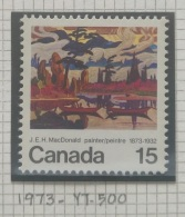 P7 Paintings - Canada 1973 Yv. 500 MNH Stamp - The 100th Anniversary Of The Birth Of J. E. H. MacDonald - Cameroon (1960-...)