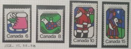 P7 Paintings - Canada 1973 Yv. 515-518 Complete Set 4v. MNH - Christmas - Cameroon (1960-...)