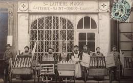 Saint-Omer En Chaussée: LAITERIE DE... Ste LAITIERE MAGGI. Superbe Gros Plan... - France