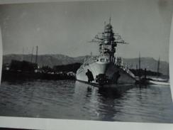 83 TOULON PHOTO SABORDAGE DE LA FLOTTE FRANÇAISE BATIMENT DE LIGNE STRASBOURG - Krieg, Militär