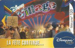 TC-PUBLIC°-120U-F1299-SO3-08/2003-LA FETE CONTINUE DISNEY VILLAGE-TBE - France