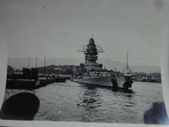 83 TOULON PHOTO SABORDAGE DE LA FLOTTE FRANÇAISE BATIMENT DE LIGNE STRASBOURG B - Krieg, Militär