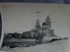 83 TOULON PHOTO SABORDAGE DE LA FLOTTE FRANÇAISE BATIMENT DE LIGNE STRASBOURG C - Krieg, Militär