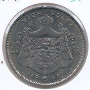 ALBERT I * 20 Frank / 4 Belga 1931 Vlaams  Pos.A * Prachtig * Nr 9740 - 1909-1934: Albert I