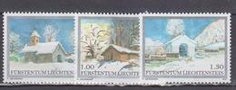 LIECHTENSTEIN           2007          N .   1402 / 1404        COTE   7 . 50  Euros - Liechtenstein