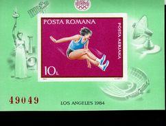 Rumänien Block 208 Olympische Sommerspiele MLH   * - Hojas Bloque