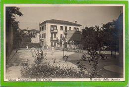 Istituto Campostrini - Lido Venezia - Il Cortile Della Scuola - Formato Piccolo - Venezia (Venice)