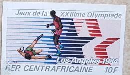ZAMBIE, Jeux Olympiques 84, Boxing, Boxe, JO Los Angeles 84, 1 Valeur Non Dentele Sans Gomme - Summer 1984: Los Angeles