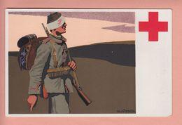 OLD POSTCARD     RED CROSS SOLDIER - ROTEN KREUZ MUNCHEN STADT - Ansichtskarten