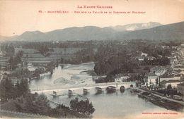 CPA (Labouche) Montréjeau Vue Sur La Vallée De La Garonne Et Polignan P119 - Montréjeau