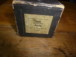 Rouleau Ancien Perforé Pour Piano Mécanique 3611 AIDA  Hymne U. Triumphmarsch,   G. Verdi - Objets Dérivés