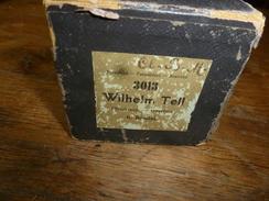 Rouleau Ancien Perforé Pour Piano Mécanique 3013  Wilhelm Tell  Ouverture  G. Rossini - Objets Dérivés