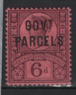 Gran Bretagna 1888 Servizio Unif. S.32 */MVLH VF - Signed Raybaudi - Servizio