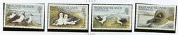 1985 - FALKLAND ISLANDS DEPENDENCE - Mi. Nr.  129/132 -  NH -  (UP.70.1) - Falkland