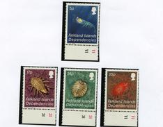 1984 - FALKLAND ISLANDS DEPENDENCE - Mi. Nr.  121/124 -  NH -  (UP.70.1) - Falkland