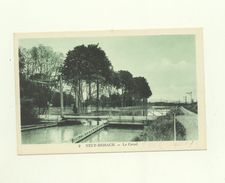 68 /CPA - Neuf Brisach - Le Canal - Neuf Brisach