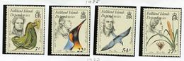 1985 - FALKLAND ISLANDS DEPENDENCE - Mi. Nr.  138/141 -  NH -  (UP.70.1) - Falkland