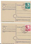 BONN - Premier Siège Du Bundestag -Oblit. Spéciale Du 7.09.1949 Sur  2 Postkarte. - [7] République Fédérale