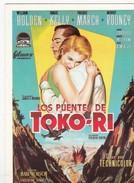 CPM Affiche De Film Spanish Posters LOS PUENTES DE TOKO-RI  W HOLDEN Grace KELLY Mickey ROONEY - Affiches Sur Carte