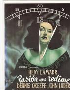 CPM Affiche De Film Spanish Posters PASION QUE REDI:E - Affiches Sur Carte