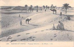 Afrique Algérie Scènes & Types Paysage Saharien Au Désert  ( - Editions  LL N°6195) *PRIX FIXE - Scènes & Types