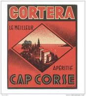 Etiquette Cap Corse  -  Cortera - Labels