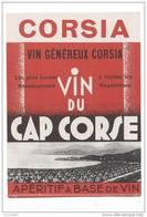Etiquette Cap Corse   Corsia - Labels