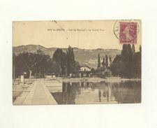 73 / CPA - Aix Les Bains - Lac Du Bourget - Le Grand Port - Aix Les Bains