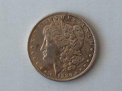 Etats-Unis, United States, USA - One 1 Dollar 1886 P Morgan - Silver, Argent - Émissions Fédérales