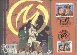 OCB Nr 3283 3283HK Blake & Mortimer Jacobs Strip BD Comic Herdenkingskaart Carte Souvenir - Lettres & Documents
