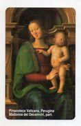 Vaticano - Urmet - Perugino - Madonna Col Bambino - Nuova - Validità 1.1.2005 - Catalogo Golden 104 - (FDC7087) - Vatican