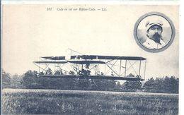 AVIATION - CODY Sur Son Biplan - Aviatori