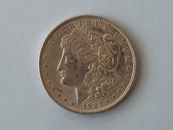 Etats-Unis, United States, USA - One 1 Dollar 1921 P Morgan - Silver, Argent - Émissions Fédérales