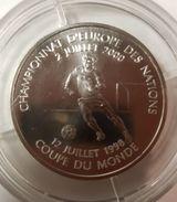 1 Franc Bu 2000 Championnat D'Europe Des Nations 2000 Coupe Du Monde De Football 1998 - France
