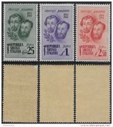 Italia Italy 1944 RSI Bandiera Sa N.512-514 Completa Nuova Integra MNH ** - 4. 1944-45 Repubblica Sociale