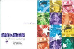 Scauting Postcard - The European Scout Office. New Year / Bonne Annee - Pfadfinder-Bewegung