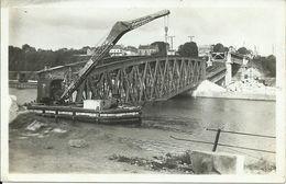 Conflans Fin D'Oise : Pont Eiffel Bombardé Juin 40. Péniche / Grue. Petit éditeur! - Altri Comuni