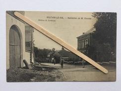 HOUTAIN-LE-VAL «Habitation De M.CROUSSE «Panorama,animée.(Édit O.CARDONA ) . - Genappe