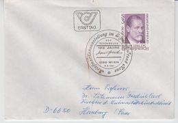 AUSTRIA 1981 DOCTOR SIGMUND FREUD MEDICINE PSYCHOANALYSE COVER - Medicine