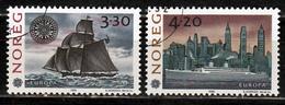 Noorwegen Mi 1096,1097 Europa Cept 1992 Gestempeld  Fine Used - Europa-CEPT