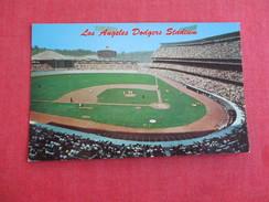 Los Angeles Dodgers Stadium  California  Baseball   -ref 2772 - Cartes Postales