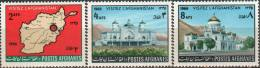 Afghanistan 1966 Stamps Tomb Abd Er Rehman Casino Summer Palace MNH - Afghanistan