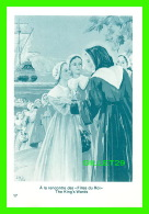 IMAGES RELIGIEUSES - MARGUERITE BOURGEOYS - C.N.D. 1950 - À LA RENCONTRE DES FILLES DU ROI - - Devotion Images