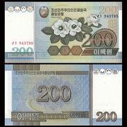 North Korea 200 Won 2005 UNC - Corea Del Norte