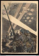 DC03# Alte AK Ansichtskarte Propaganda WKII - Luftwaffe - Mittleres Flakgeschütz - Guerre 1939-45