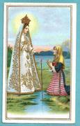 Santini: MARIA SS. DI CARAVAGGIO  - SANTUARIO - E - PR - Mm. 76 X 127 - CROMOLITOGRAFIA - Religione & Esoterismo